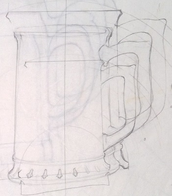 Modellers drawings of mugs to be identified ... Q10