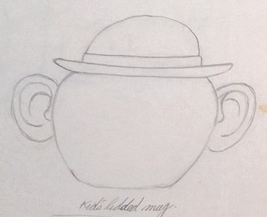 Modellers drawings of mugs to be identified ... R10