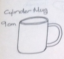 Modellers drawings of mugs to be identified ... S10