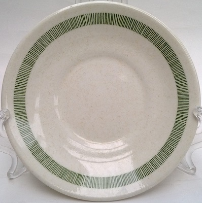 chelsea - Green thin stripe band saucer and green mug for Chelsea Green Stripe10