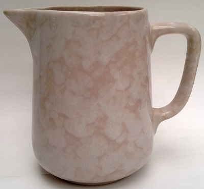 Old Temuka jug in soft pink Temuka10