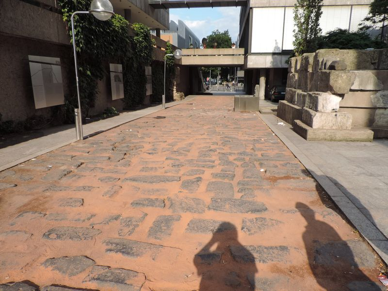"""Archäologischer Park in Xanten - ein """"römischer"""" Rundgang im Mai 1993 Dscn1111"""