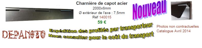 CHARNIERE DE CAPOT 2014-010
