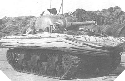 Hélice de char Sherman Duplex Drive, Bernières-sur-Mer, 6 juin 1944, F.G.H. Char_d10