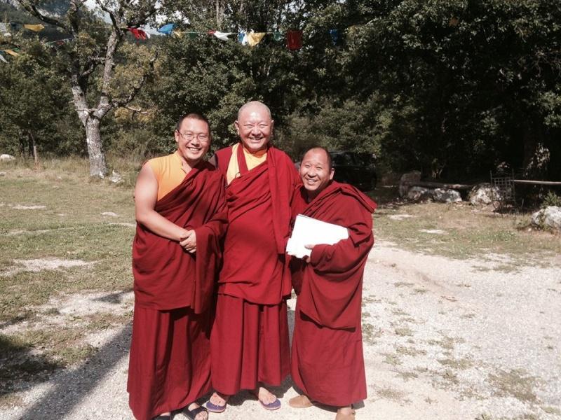 RINGU Tulku à Nyima Dzong juillet 2014 10456010