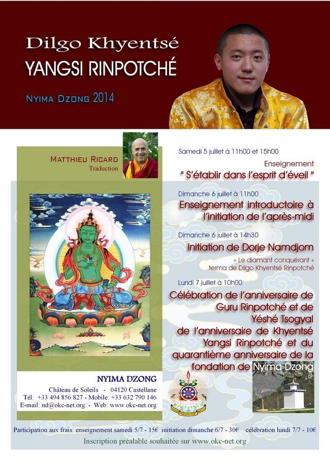 YANGSI DILGO KHYENTSE à Nyima Dzong 537d2b10