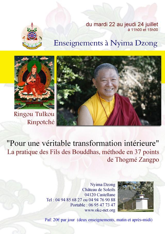 RINGU Tulku à Nyima Dzong juillet 2014 Af68b310