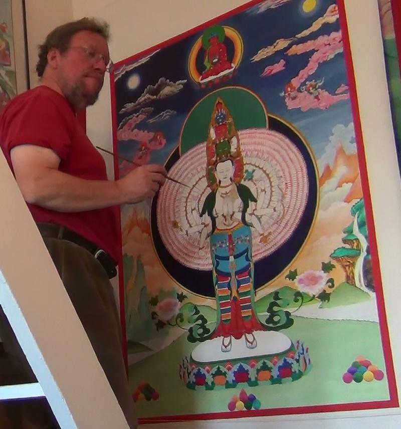 Avalokiteshvara, le Bouddha de Compassion Avalo_10