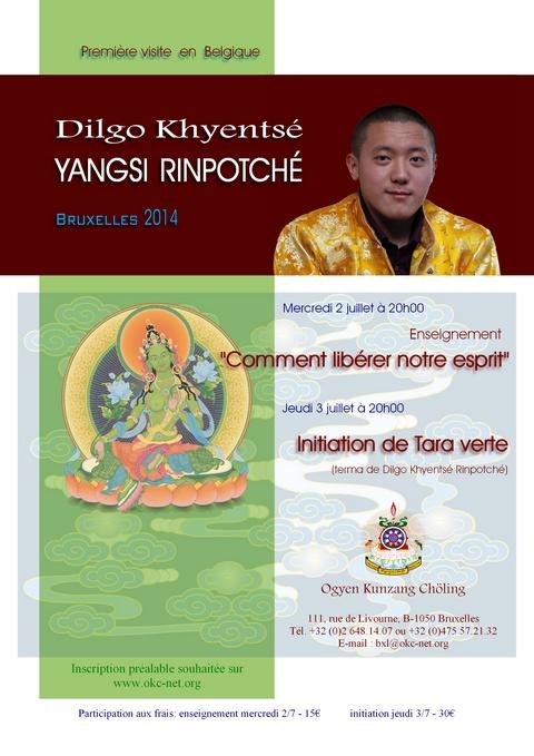 - Visite de Dilgo Khyentsé Yangsi Rinpoché 2014 C367b610