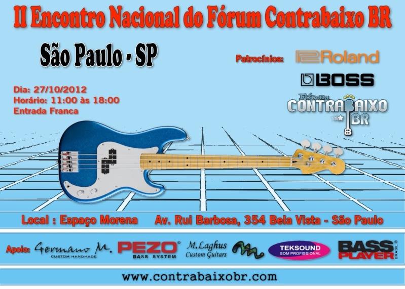II Encontro Nacional FCBR - 27 de Outubro - São Paulo Flyer-10