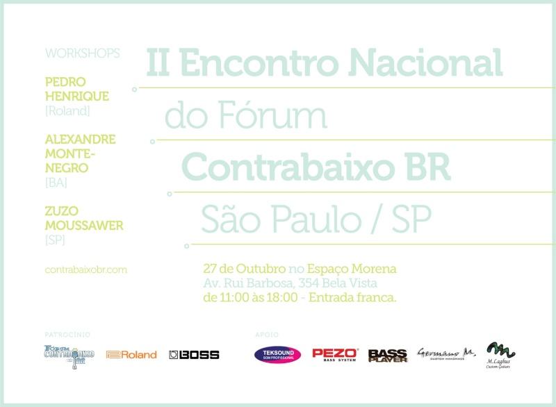 II Encontro Nacional FCBR - 27 de Outubro - São Paulo Flyer_10