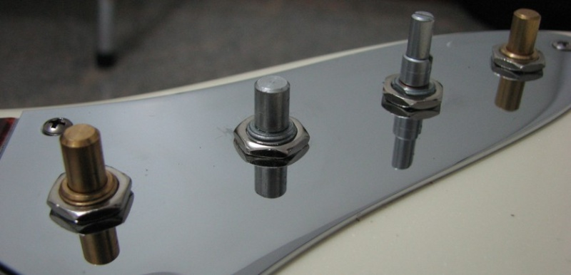 Medida certa para Knobs Fender American Deluxe Fender10