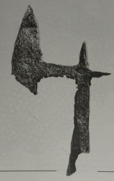 [Artefacts] haches à lancer, croix à lancer ( 14e-17e) 0210