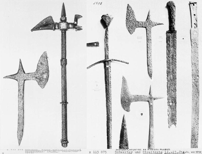 [Artefacts] haches à lancer, croix à lancer ( 14e-17e) 0510