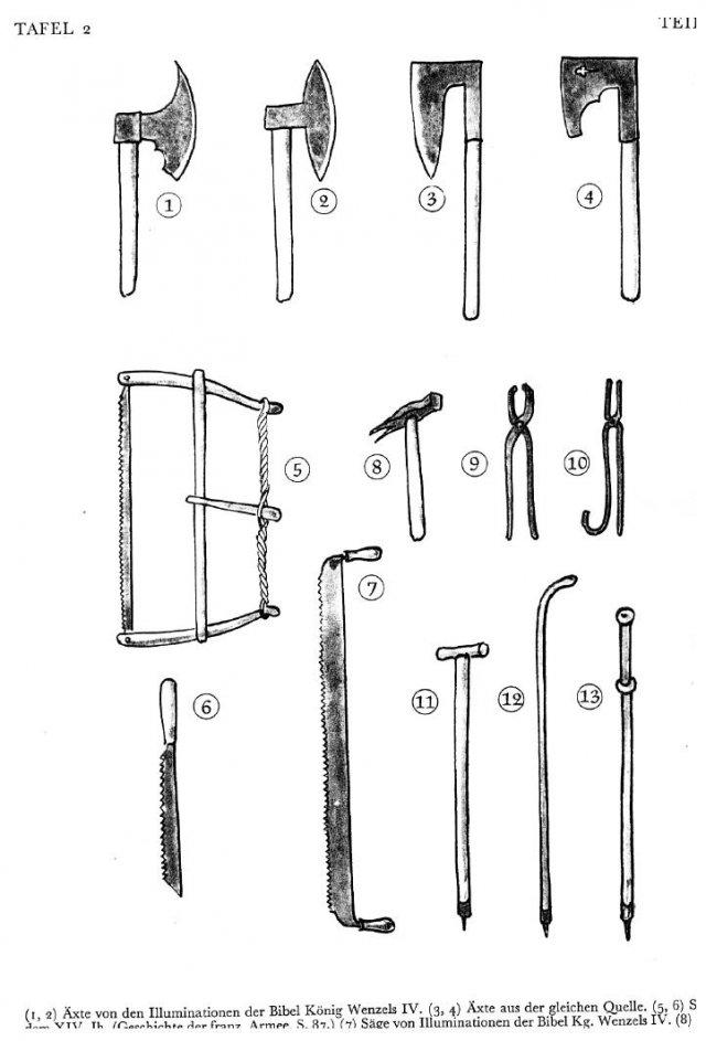 Outils : pelles, pioches, houes... Divers10
