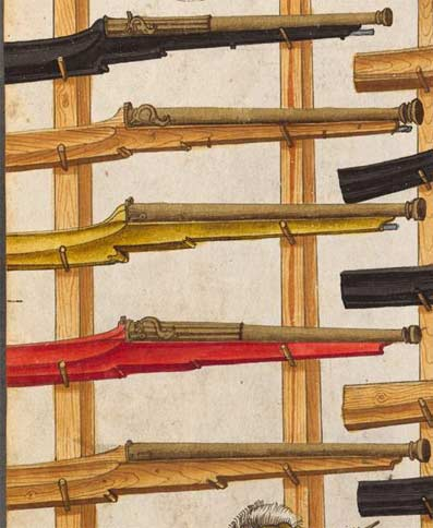 De la couleur de l'artillerie Types110