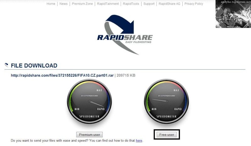 Návod ako sťahovať z rapidshare.com ! Fifa_210
