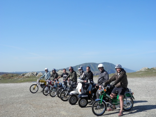 II Volta a Galicia en ciclomotor. 110