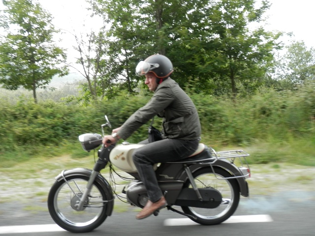 I volta a galicia ciclomotores clasicos 2014, MAS FOTOS, 1o julio 210