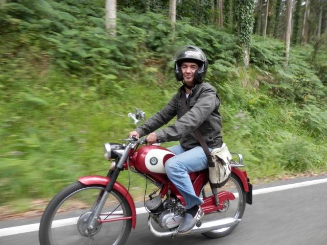 I volta a galicia ciclomotores clasicos 2014, MAS FOTOS, 1o julio 510