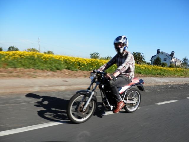 I volta a galicia ciclomotores clasicos 2014, MAS FOTOS, 1o julio 710