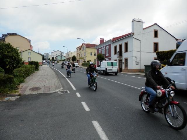 I volta a galicia ciclomotores clasicos 2014, MAS FOTOS, 1o julio P6140611
