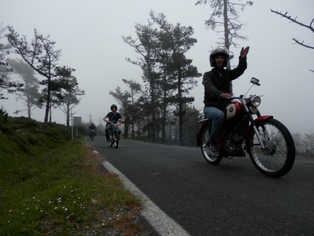 I volta a galicia ciclomotores clasicos 2014, MAS FOTOS, 1o julio P6140617