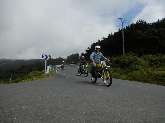 I volta a galicia ciclomotores clasicos 2014, MAS FOTOS, 1o julio P6140719
