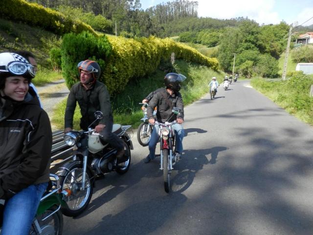 I volta a galicia ciclomotores clasicos 2014, MAS FOTOS, 1o julio P6140726