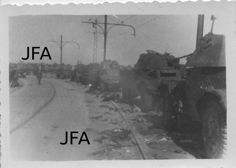 Véhicules divers abandonnés en Mai/Juin 1940 – vos photos - Page 7 Chars410