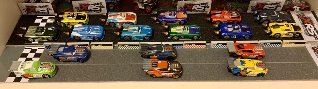 Les variantes des miniatures de Cars 3... la spécialité de Mattel !  B8499610