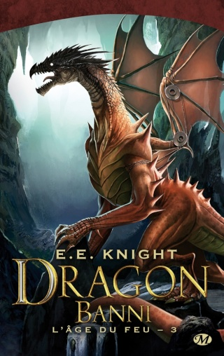 L'ÂGE DU FEU (Tome 3) DRAGON BANNI de E.E. Knight 1410-a10