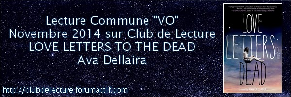 LOVE LETTERS TO THE DEAD by Ava Dellaira Banniy34