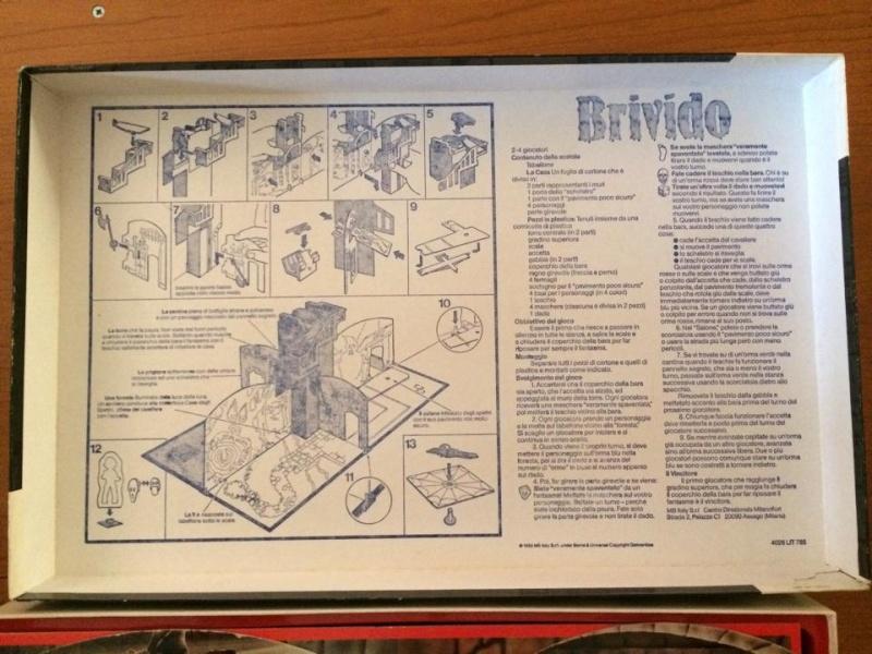 Brivido gioco di societa`anni 80 MB GIOCHI COMPLETO DI CATALOGHINO RARO 10300910