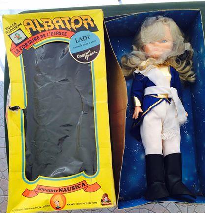 Bambola LADY OSCAR Versailles 55 cm box GABAR bambole Italiane Albator Capitan Harlock Nausica anni 70 80 10303410