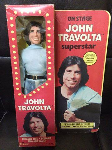 Action Figure John Travolta Film TV Anni 70 Vintage Attore epoca Goldrake GREASE 10471510