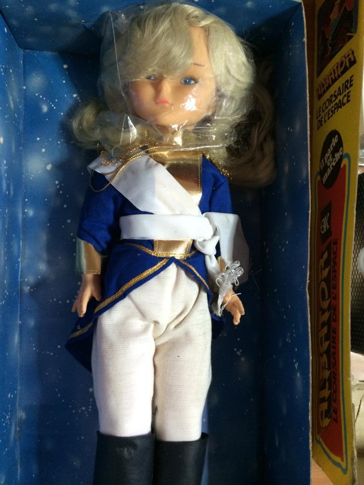 Bambola LADY OSCAR Versailles 55 cm box GABAR bambole Italiane Albator Capitan Harlock Nausica anni 70 80 10624810