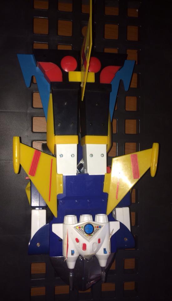 samurai - Daitarn TRE Daitan 3 Jumbo motorizzato Trasformabile Battery operated oltre 40 cm CLOVER no Samurai 10625110