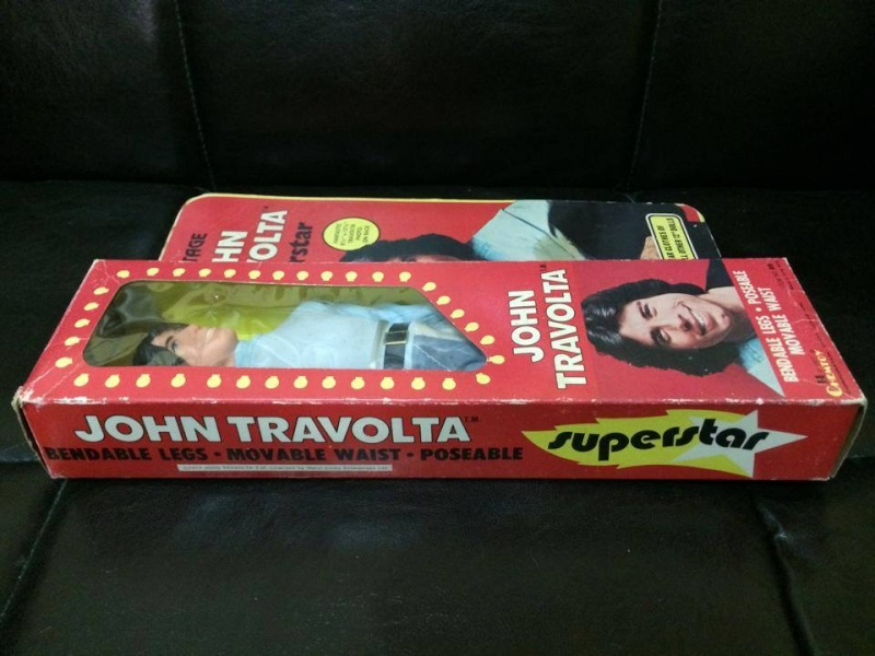 Action Figure John Travolta Film TV Anni 70 Vintage Attore epoca Goldrake GREASE 10645110