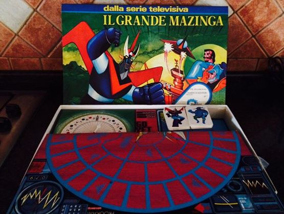 Il Grande MAZINGA gioco di società o da tavola del 1979 vintage 10650010