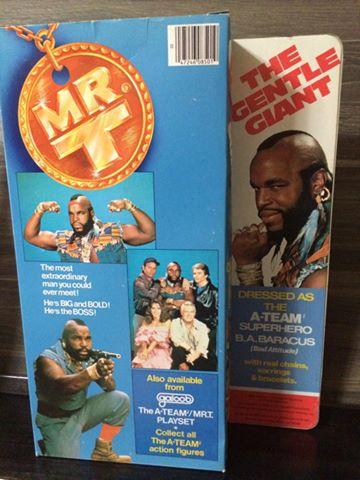 Mr. T A-Team Baracus Della famosa serie televisiva , anni 80 Fondo di magazzino  10676310
