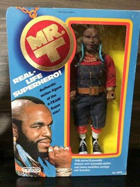 Mr. T A-Team Baracus Della famosa serie televisiva , anni 80 Fondo di magazzino  10703910
