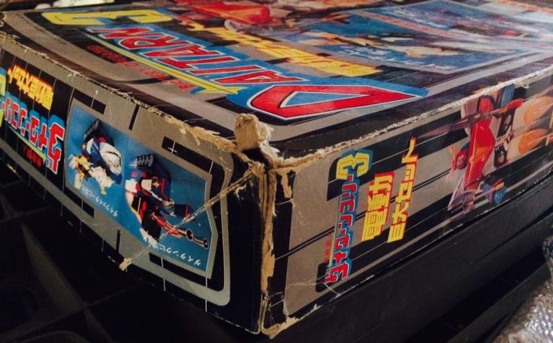 samurai - Daitarn TRE Daitan 3 Jumbo motorizzato Trasformabile Battery operated oltre 40 cm CLOVER no Samurai Foto_410