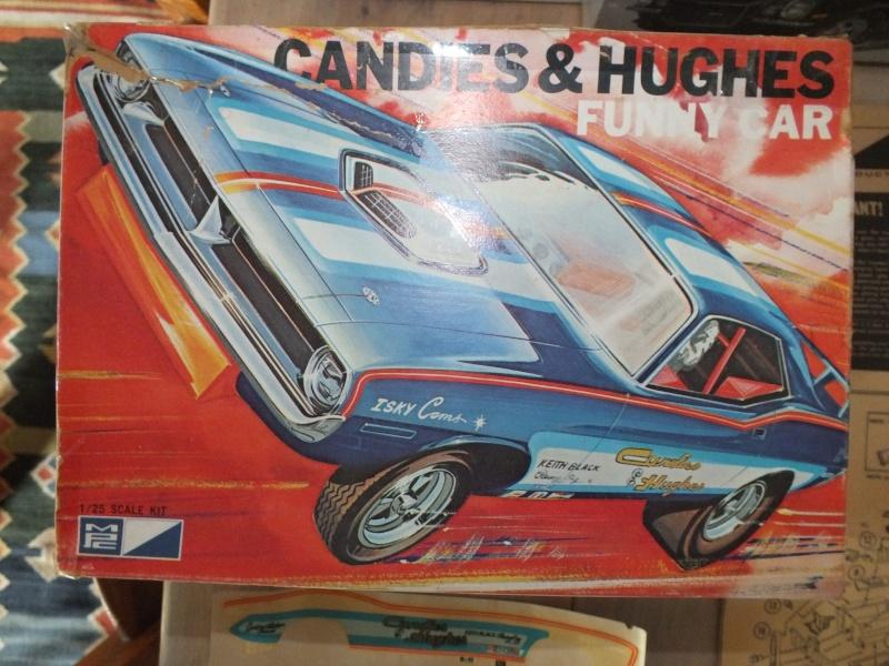 MPC 70 Cuda Funny Car Candies & Hughes Dscf0030