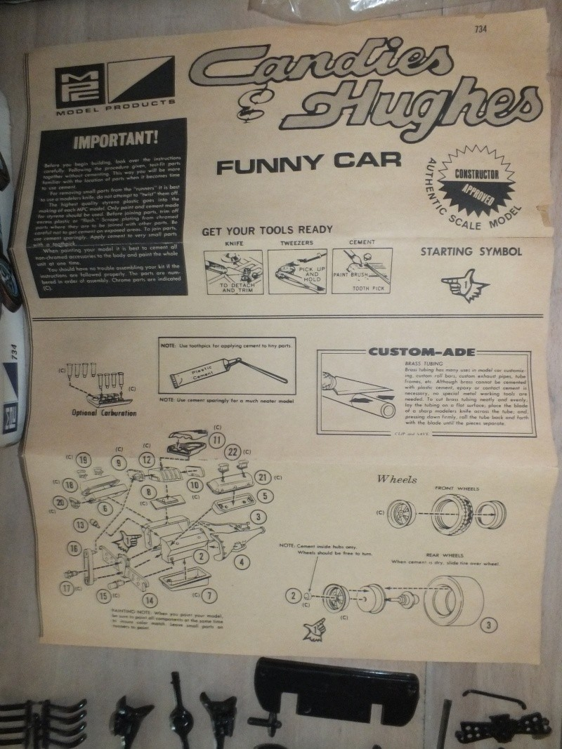 MPC 70 Cuda Funny Car Candies & Hughes Dscf0031