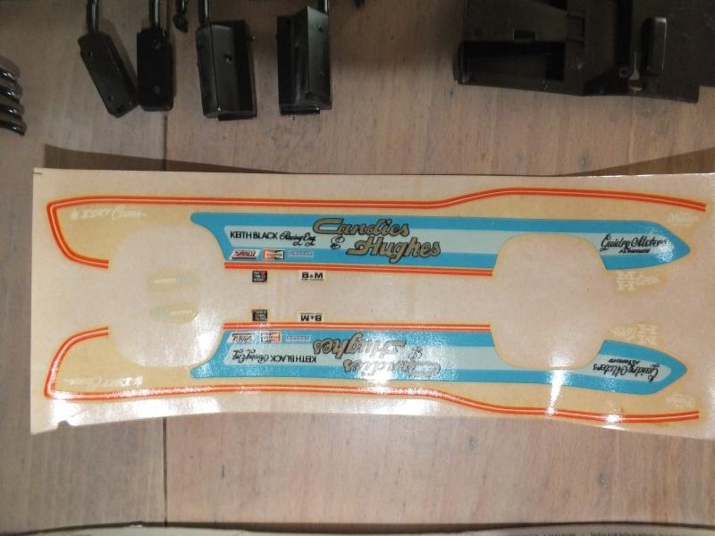 MPC 70 Cuda Funny Car Candies & Hughes Dscf0032