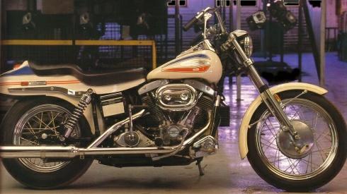 Tamiya 1/6 FXE 1200 Super glide Harley10