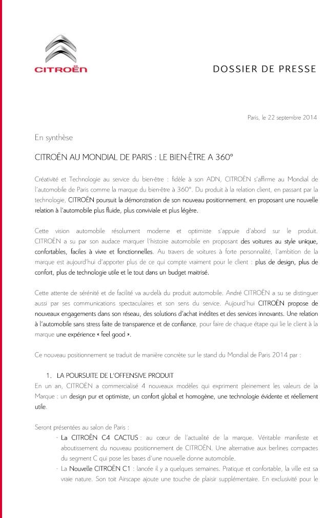 [SALON] Paris - Mondial de l'Automobile 2014 - Page 5 Mondia10
