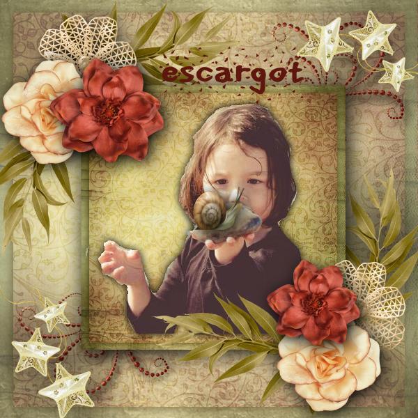 Challenge Scrap la Photo N°46 jusqu'au 6 juillet Escarg10
