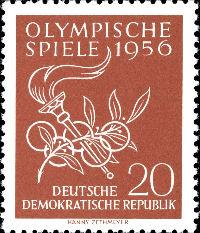 Olympische Spiele der Deutschen Post der DDR  Bild510